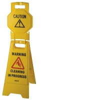 Contractor 'A' Frame Caution Sign